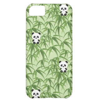 Bamboo with Pandas iPhone 5C Cases