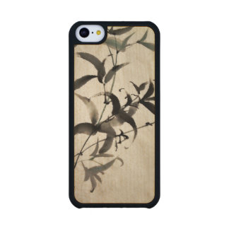 Bamboo Carved® Maple iPhone 5C Slim Case