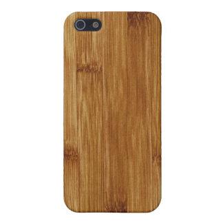 Bamboo wood iPhone 5 case