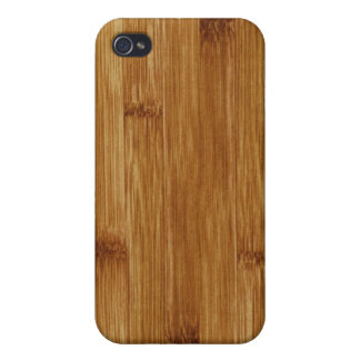 Bamboo wood iPhone 4 cases