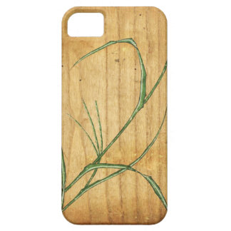 Bamboo Woodblock iPhone 5 Cover
