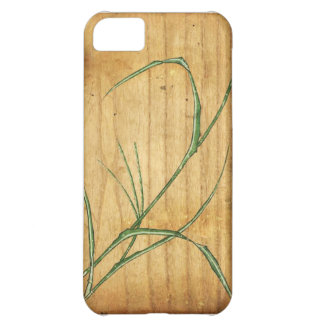 Bamboo Woodblock Case For iPhone 5C