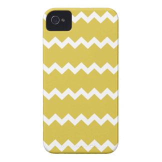 Bamboo Yellow Chevron Iphone 4/4S Case