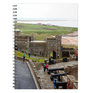 Bamburgh Castle, Northumberland, England Spiral Notebook