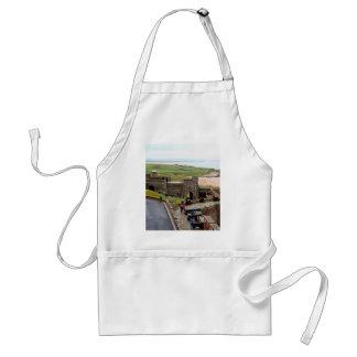 Bamburgh Castle, Northumberland, England Standard Apron