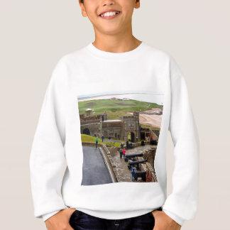 Bamburgh Castle, Northumberland, England Sweatshirt
