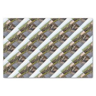 Bamburgh Castle, Northumberland, England Tissue Paper