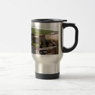 Bamburgh Castle, Northumberland, England Travel Mug
