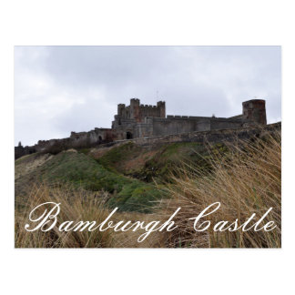 Bamburgh Castle Postcard