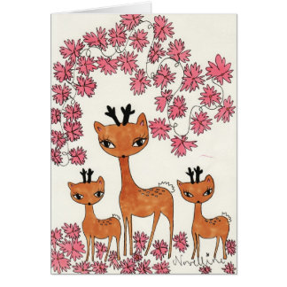 Bambys by Novelline Greeting Card