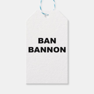 Ban Bannon Pack Of Gift Tags