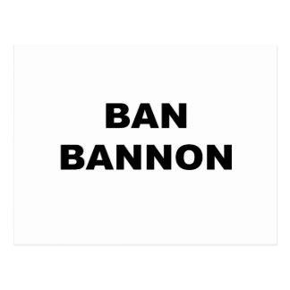 Ban Bannon Postcard