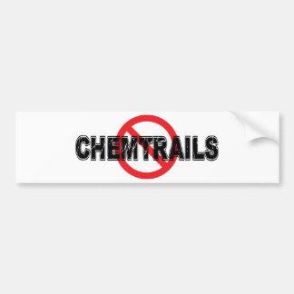 Ban Chemtrails Bumper Sticker