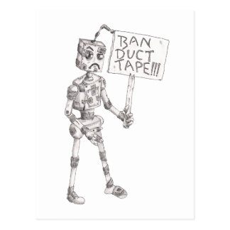 Ban Duct Tape! Postcard