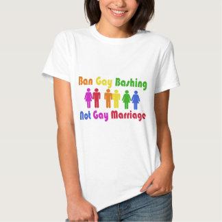 Ban Gay Bashing T Shirts
