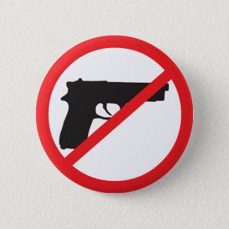 Ban Guns Anti-Gun Pacifist 2 Inch Round Button