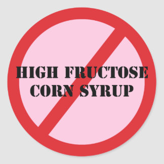 Ban High Fructose Corn Syrup Sticker