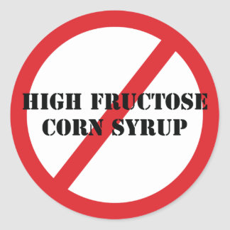 Ban High Fructose Corn Syrup Sticker