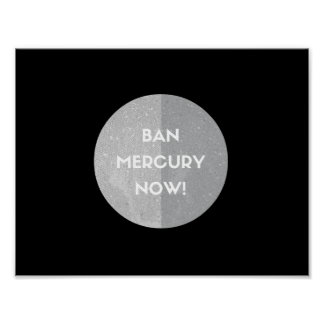 Ban Mercury Now! Poster