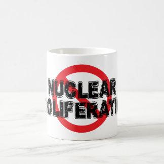 Ban Nuclear Proliferation Coffee Mug