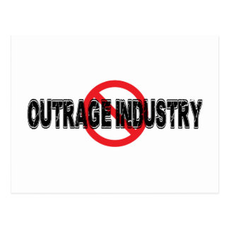 Ban Outrage Industry Postcard