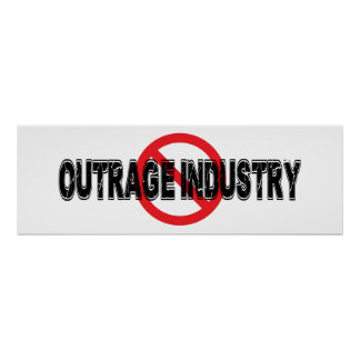 Ban Outrage Industry Poster