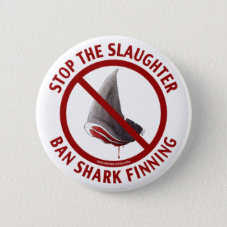 Ban Shark Finning Button