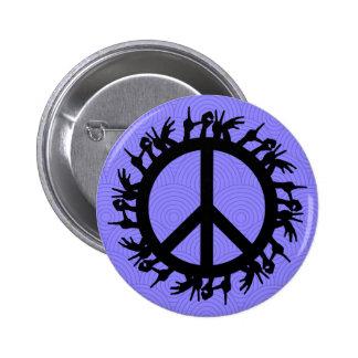Ban the Bomb Symbol (Love) - Button Pin Badge