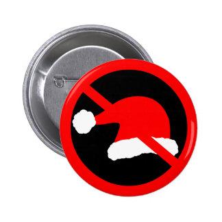 Ban Xmas 2 Inch Round Button