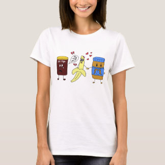 banana and peanut butter T-Shirt