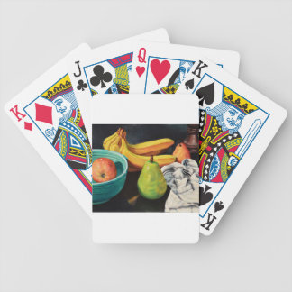 Banana Apple Pear Still Life Bicycle Playing Cards