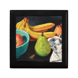 Banana Apple Pear Still Life Gift Box