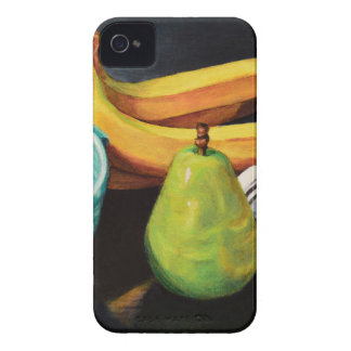 Banana Apple Pear Still Life iPhone 4 Case