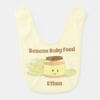 Banana Baby Food Cartoon |  Baby Bib