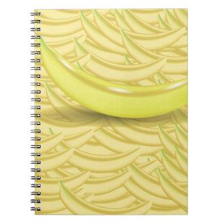 Banana Background Notebook