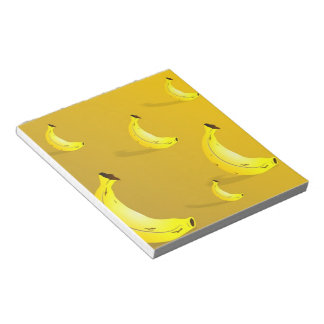 Banana Background Notepads