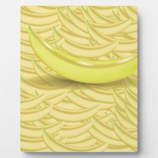 Banana Background Plaque