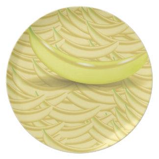Banana Background Plate