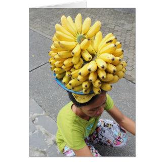 Banana Blank Card