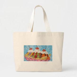 Banana Boat collage Jumbo Tote Bag