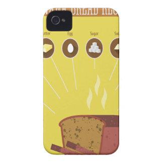 Banana Bread Day - Appreciation Day iPhone 4 Cases