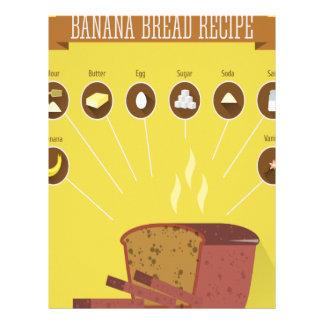 Banana Bread Day - Appreciation Day Letterhead