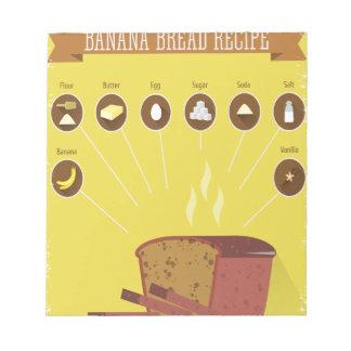 Banana Bread Day - Appreciation Day Notepad