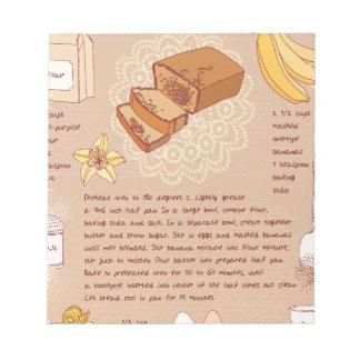 Banana Bread Day - Appreciation Day Notepads