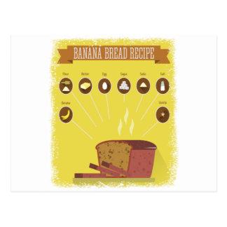 Banana Bread Day - Appreciation Day Postcard