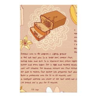 Banana Bread Day - Appreciation Day Stationery