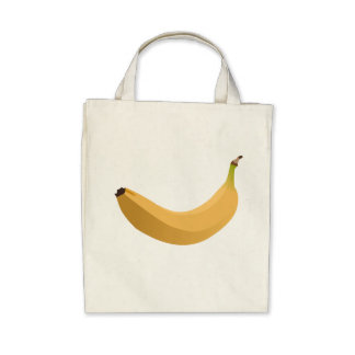 Banana Canvas Bag