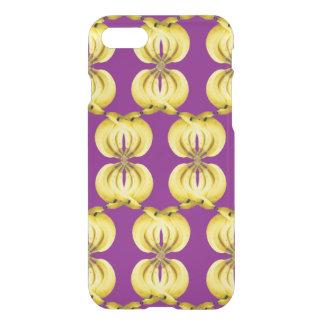 Banana Damask Golden Yellow Tropical Food Art iPhone 8/7 Case