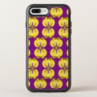 Banana Damask Golden Yellow Tropical Food Art OtterBox Symmetry iPhone 8 Plus/7 Plus Case
