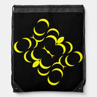 Banana Design Drawstring Bag